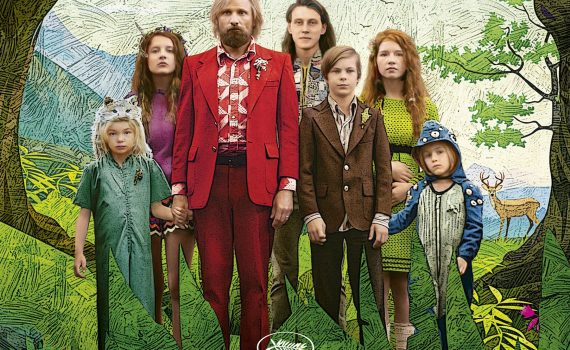 "Affiche du film ""Captain Fantastic"""