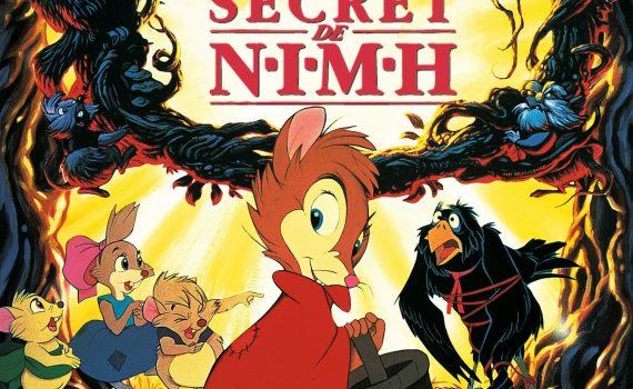 """Affiche du film """"Brisby et le Secret de N.I.M.H."""""""