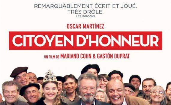 """Affiche du film """"Citoyen d'honneur"""""""