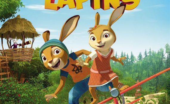 """Affiche du film """"L'Ecole des lapins"""""""