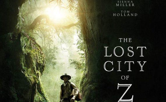 "Affiche du film ""The Lost City of Z"""