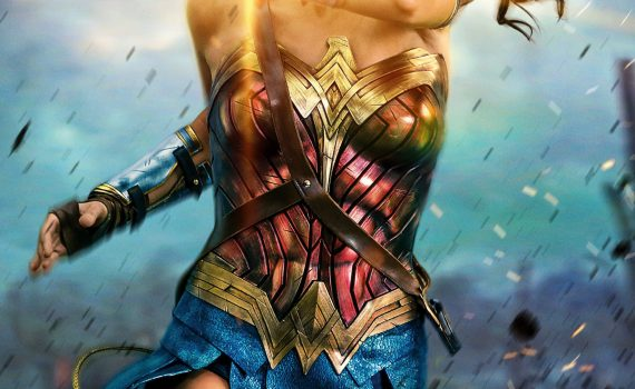 "Affiche du film ""Wonder Woman"""