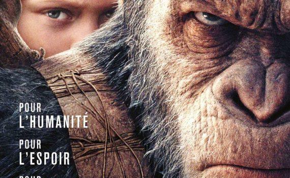 """Affiche du film """"La Planète des Singes - Suprématie"""""""