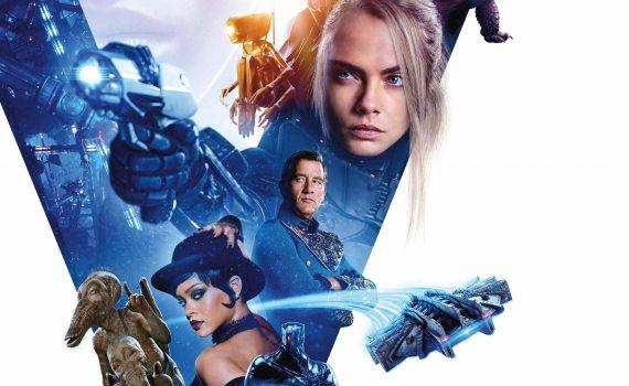 """Affiche du film """"Valerian et la cité des mille planètes"""""""