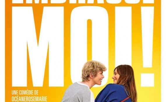 """Affiche du film """"Embrasse-moi !"""""""