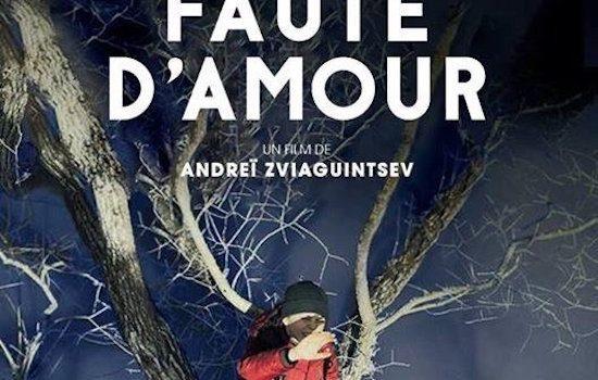 """Affiche du film """"Faute d'amour"""""""