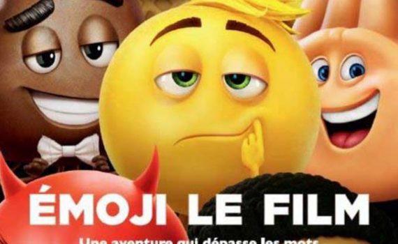 """Affiche du film """"Le Monde secret des Emojis"""""""