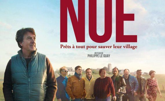 """Affiche du film """"Normandie nue"""""""