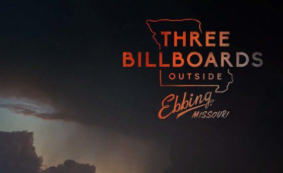 """Affiche du film """"3 Billboards, Les panneaux de la vengeance"""""""