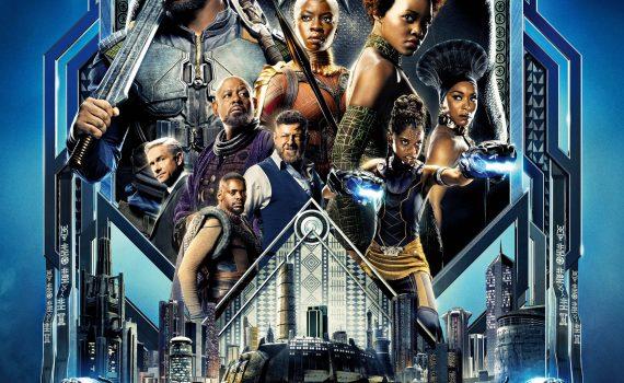 """Affiche du film """"Black Panther"""""""