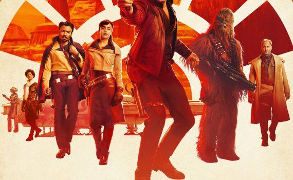 "Affiche du film ""Solo : A Star Wars Story"""