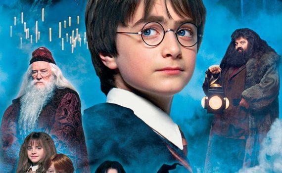"""Affiche du film """"Harry Potter à l'école des sorciers"""""""