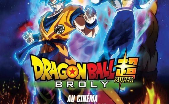 "Affiche du film ""Dragon Ball Super : Broly"""