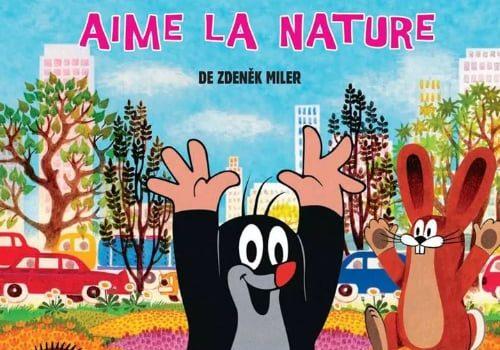 """Affiche du film """"La Petite taupe aime la nature"""""""