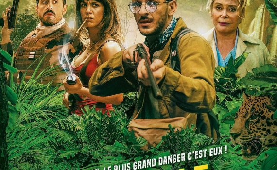 "Affiche du film ""Terrible jungle"""