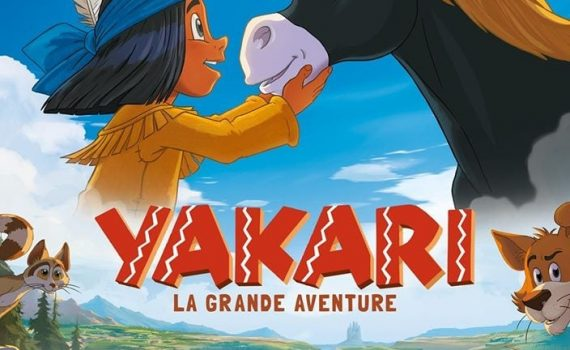 "Affiche du film ""Yakari, le film"""