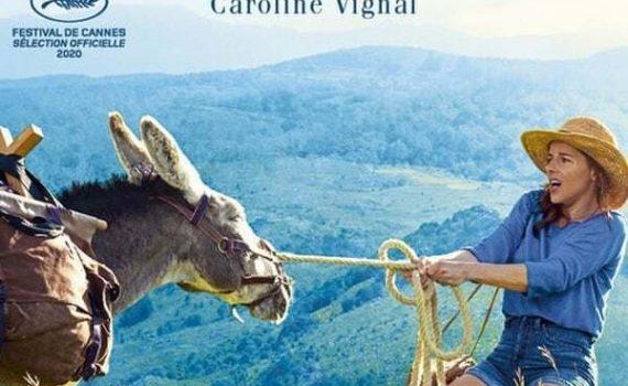 """Affiche du film """"Antoinette dans les Cévennes"""""""