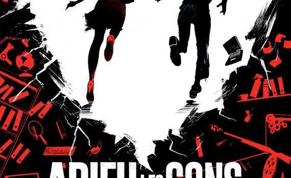 """Affiche du film """"Adieu les cons"""""""