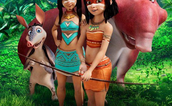 "Affiche du film ""Ainbo: Spirit of the Amazon"""