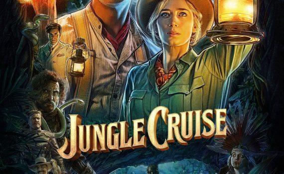 """Affiche du film """"Jungle cruise"""""""