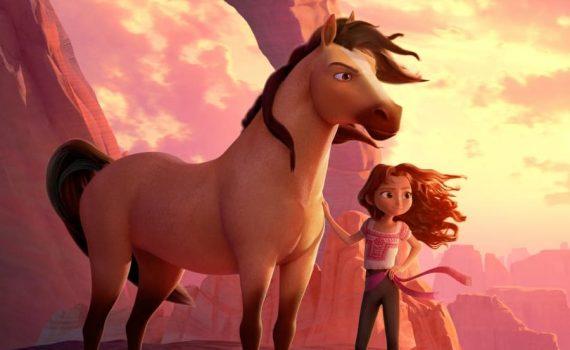 """Affiche du film """"Spirit : L'indomptable"""""""